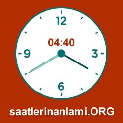 Saatlerin Anlamı Saat Anlamları Part 2
